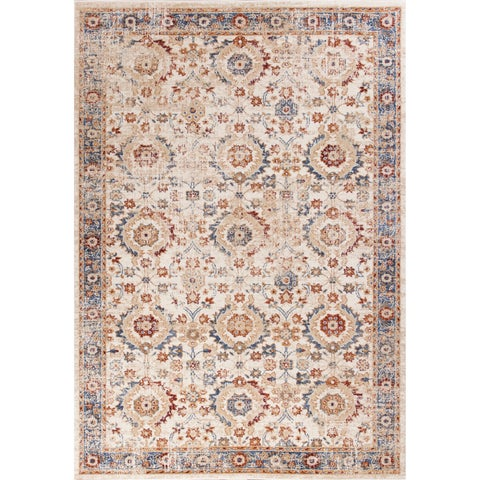 Domani Cassia Traditional Ivory Syrian Area Rug