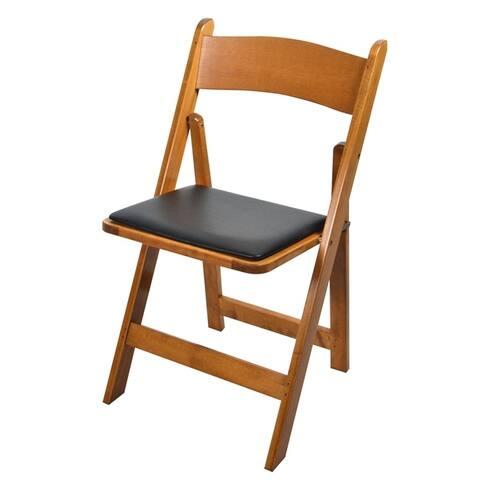 Kestell Maple Folding Chair - Vinyl Seat Cushion