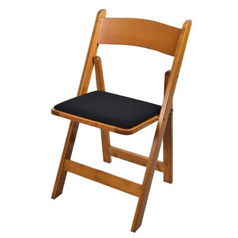 Kestell Maple Folding Chair - Fabric Seat Cushion