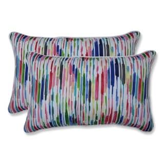 Drizzle Summer Rectangular Throw Pillow (Set of 2)