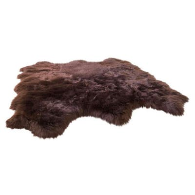 Brown Suede Rugs Find Great Home