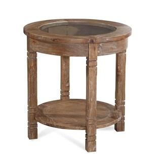 Braxton Culler Farmhouse Round End Table