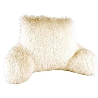 Porch & Den Halsted Shaggy Backrest Pillow
