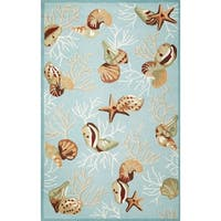 Domani Mohana Blue Deep Sea Area Rug