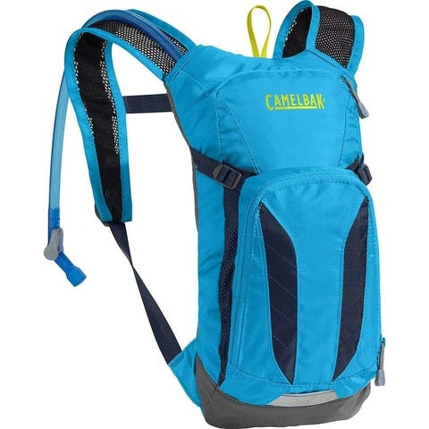 CamelBak 1155402000 Mini M.U.L.E. Kids Hydration Pack, Atomic Blue/Navy Blazer, 50oz