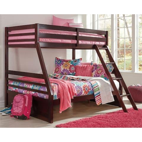 Halanton Dark Brown Bunk Bed