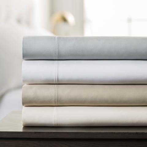 LUCID Comfort Collection Split King Rayon from Bamboo Sheet Set