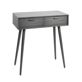 Olsen Mid-Century 2-Drawer Console Table