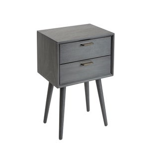 Olsen Mid-Century 2-Drawer Accent Table