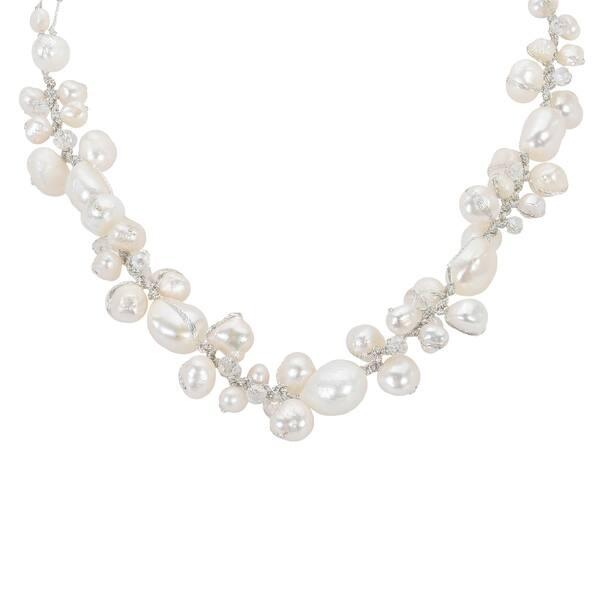 Shop Handmade Sophisticated Elegance Freshwater Pearls Crystals On