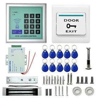 620LBS Electric Door Lock Magnetic Access Control Fobs Password System Kit - N/A - N/A