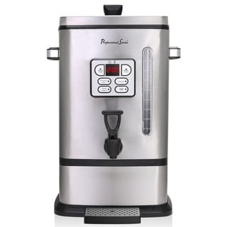 Continental Pro Series 50-Cup Digital Coffee Urn Stainless Steel