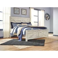 Signature Design by Ashley Bellaby Farmhouse Panel Bed