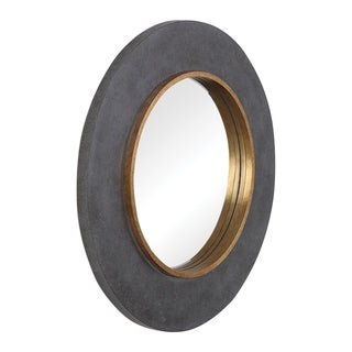Link to Uttermost Saul Antique Gold Round Mirror - Antique Gold - 30x30x1.89 Similar Items in Mirrors