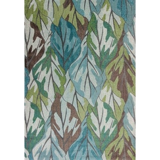 Domani Kai Abstract Botanicals Area Rug