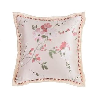 "Croscill Blyth Floral Sateen 18"" Decorative Pillow"