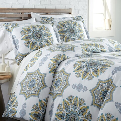Infinity Reversible Duvet Cover and Sham Set