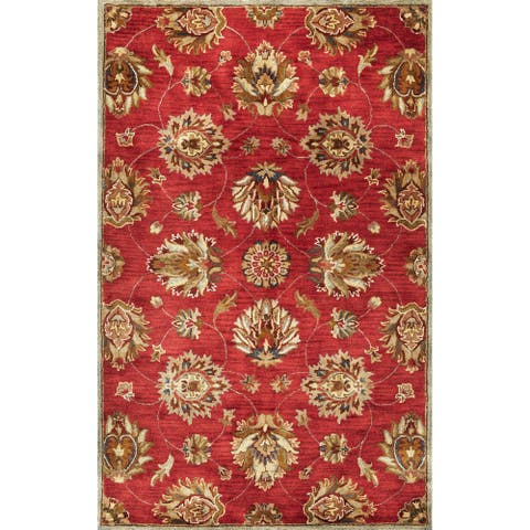 Domani Alexandria Classic Traditions Hand-tufted Wool Area Rug