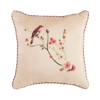 "Croscill Blyth Embroidered 16"" Decorative Pillow"