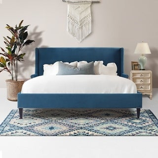 Copper Grove Ronse Wingback Platform Bed