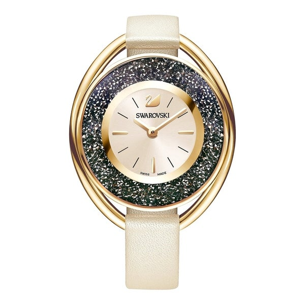 68c703818 Shop Swarovski Crystalline Oval Ladies Watch - Pink - 5296319 - Free  Shipping Today - Overstock - 27297636