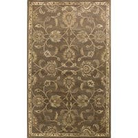 Domani Alexandria Traditional Coffee Kashan Area Rug