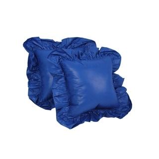 Blazing Needles Chintz 14-inch Throw Pillow (Set of 2)