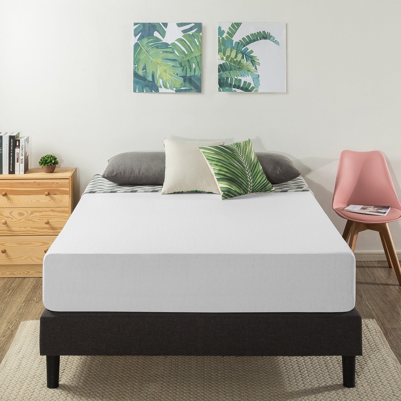 12 inch air flow memory foam bed
