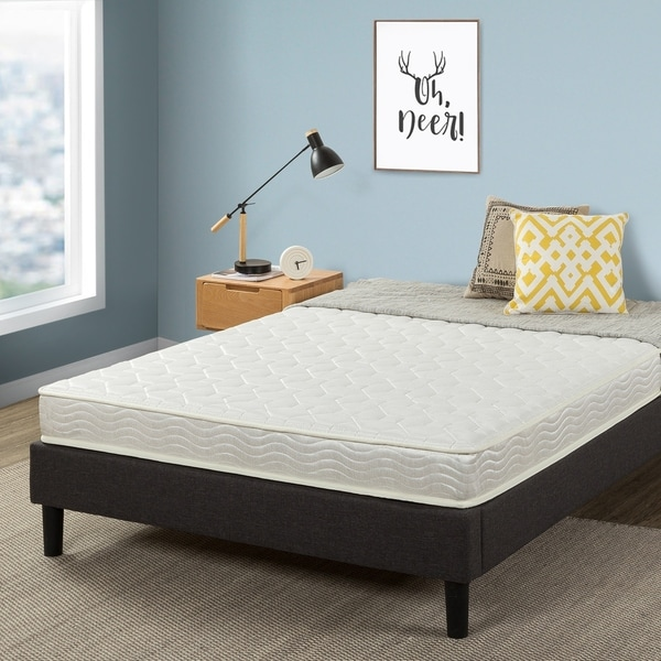 Crown Comfort 6-inch Green Tea Infused Tight Top Spring Mattress