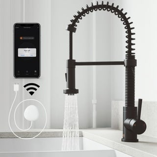 Link to VIGO Edison Pull-Down Spray FloodSense Technology Kitchen Faucet Similar Items in Faucets