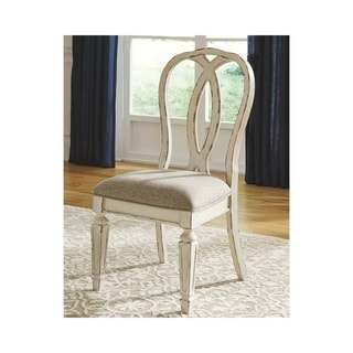 Realyn Dining Room Chair - Set of 2 - Chipped White - N/A