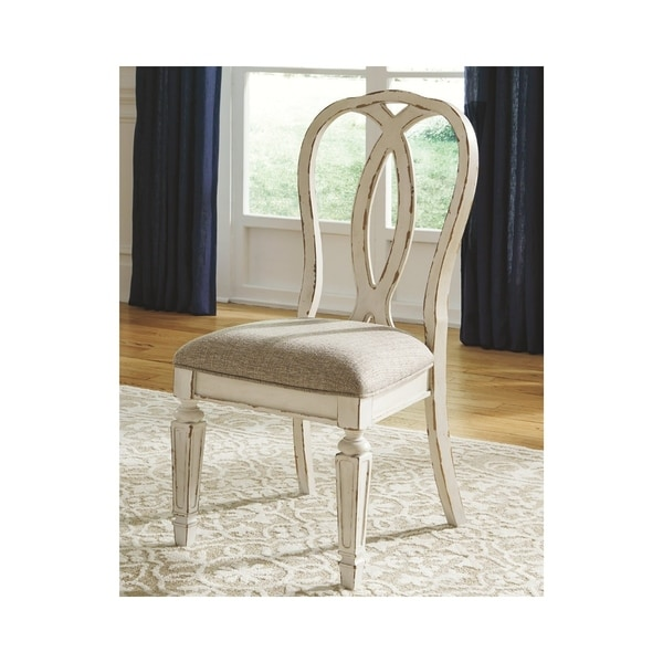 White Dining Room Set Sale: Shop Realyn Dining Room Chair