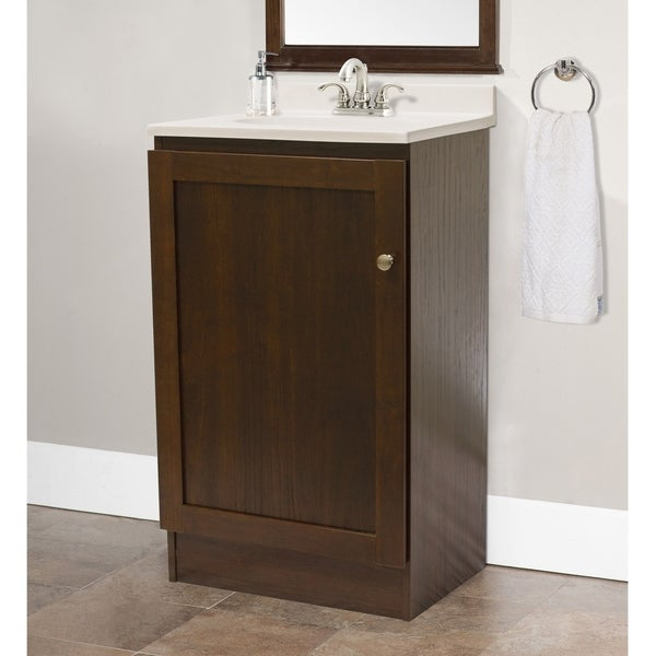 Shop os home and office furniture model 3438 space saving - Space saving bathroom vanity ...