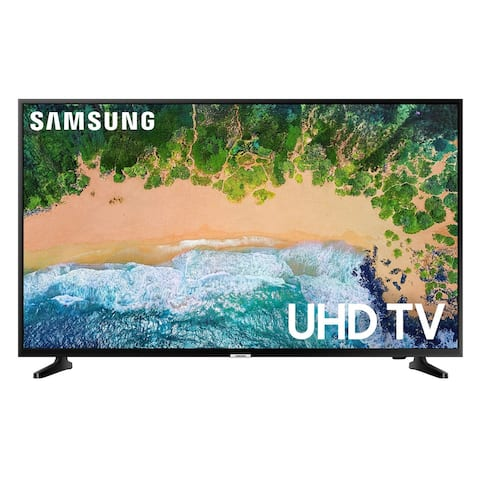 Samsung UN43NU6950 43 inch 4K UHD Smart LED TV - Refurbished - N/A - N/A
