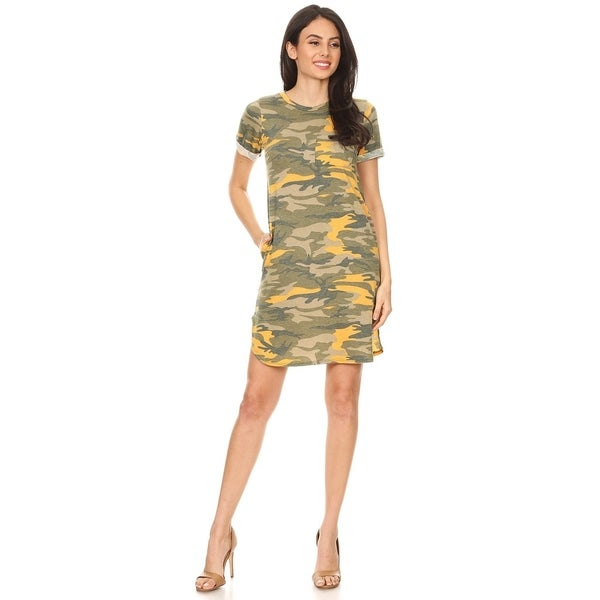 942140f8edb99 Shop Women's Casual Loose Fit Cuffed Sleeve Lightweight Scooped Hem ...