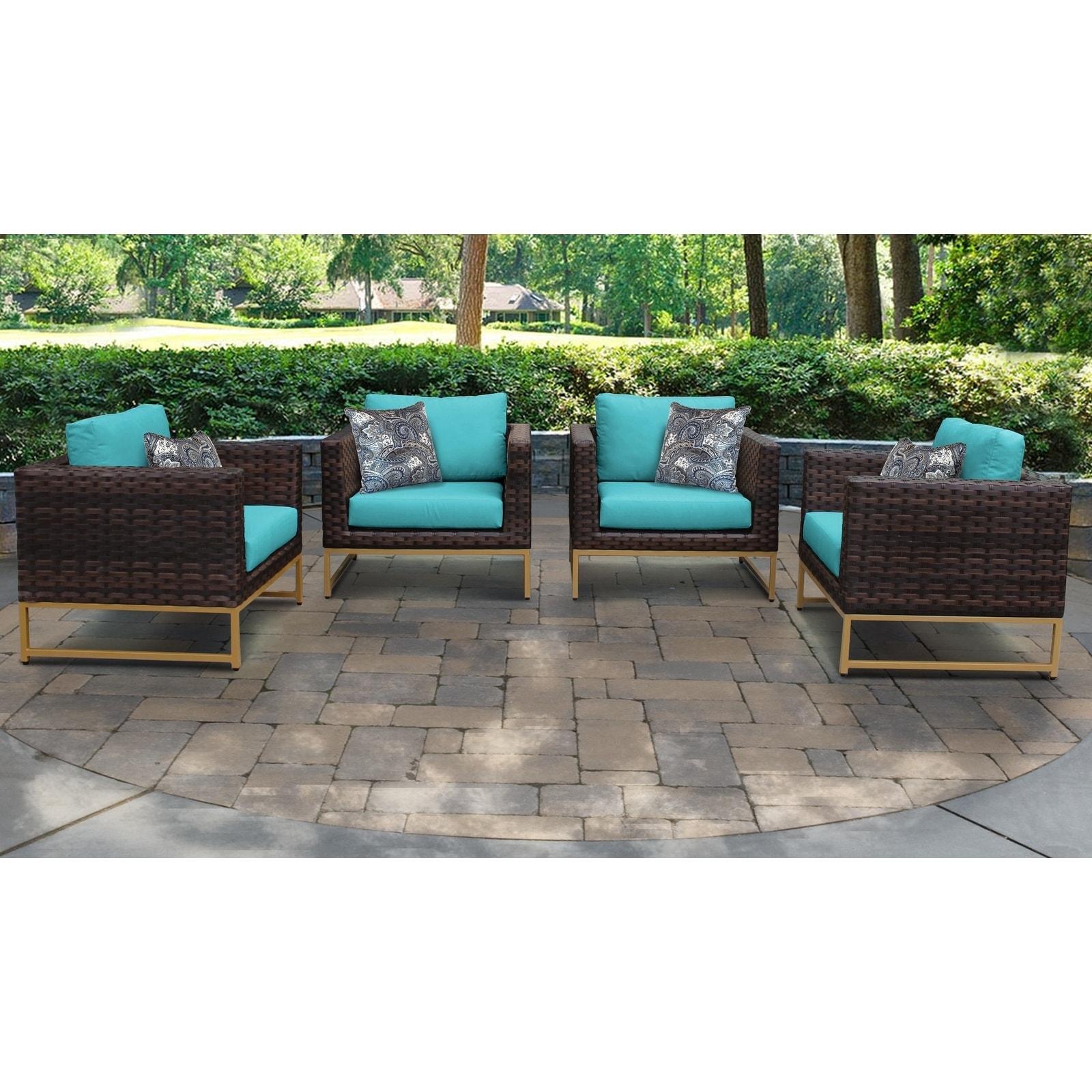 Outdoor Wicker Patio Furniture Set 04g