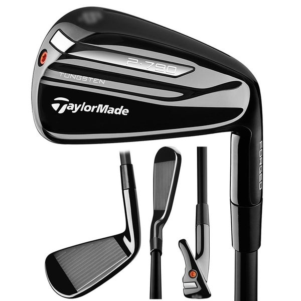 Shop TaylorMade P790 Black Limited Edition Iron Set - Free