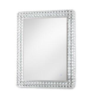 Windsor Chrome Rectangular Illuminated Wall Mirror