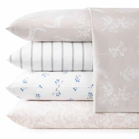 Stone Cottage Cotton Percale Printed Sheet Sets
