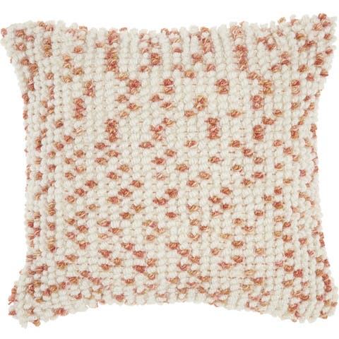Cartier Outdoor Pillows Loop Dots Throw Pillow by Havenside Home
