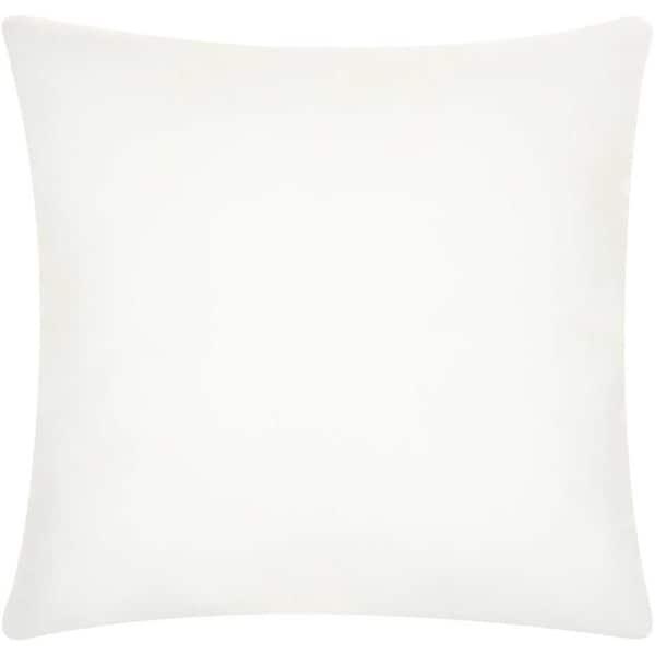 Nourison Polyester White Pillow Insert