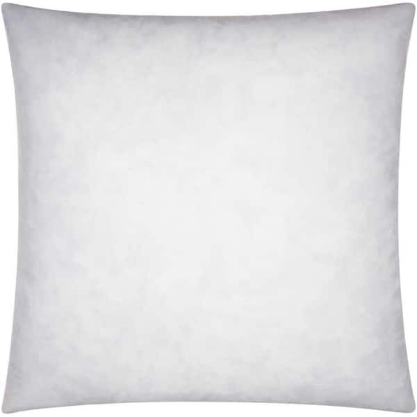 nourison white cotton down fill pillow insert