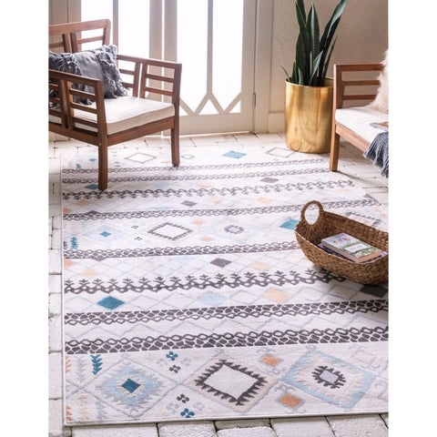 The Curated Nomad Noe Tribal Outdoor Rug