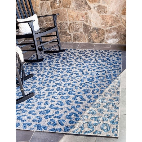 Cordova Leopard Outdoor Rug by Havenside Home. Opens flyout.