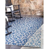 Havenside Home Cordova Leopard Outdoor Rug