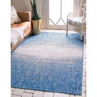 Unique Loom Outdoor Ombre Rug