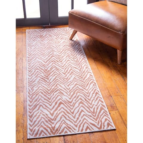 The Curated Nomad Hunters Chevron Outdoor Rug