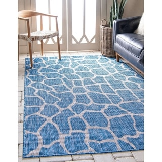 Unique Loom Outdoor Giraffe Rug