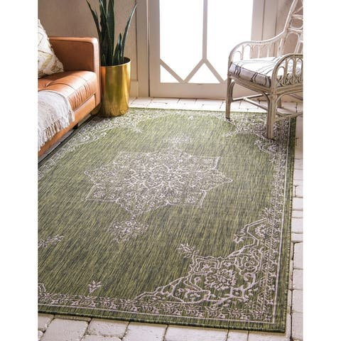 Ward Cove Outdoor Antique Rug by Havenside Home