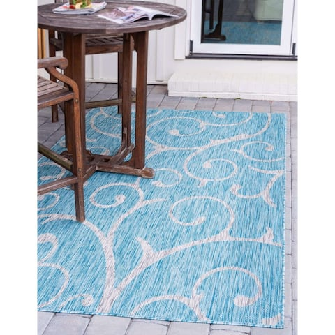 Porch & Den Marion Outdoor Curl Rug